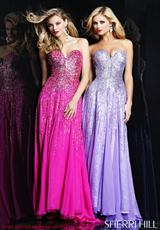 2012 Long Sherri Hill Prom Dress 8427