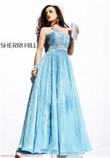 2013 Sherri Hill A Line 8437 Homecoming Dress