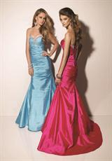 Mori Lee 91057.  Available in Cerise