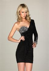 Evenings By Allure A468.  Available in Black
