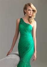 2013 Evenings by Allure Long Fitted Dress A500
