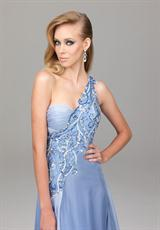2013 Evenings by Allure Open Back Dress A532