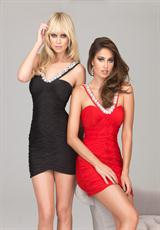 2013 Evenings by Allure Short Fitted Dress A546