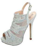 Blossom-Footwear Ella-6.  Available in Black, Nude Mesh, Silver Mesh