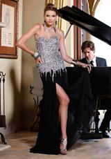 2012 Beaded BG Haute Prom Dress F19119