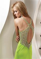 Jasz Couture 4326.  Available in Fuchsia, Lime, Orange