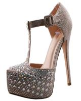 Blossom-Footwear Kinko-29.  Available in Black Sparkle, Champagne Sparkle, Silver Sparkle