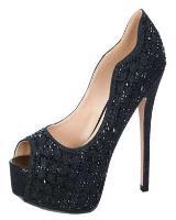 Blossom-Footwear Kinko-37.  Available in Black Shimmer, Nude Shimmer, Silver Shimmer
