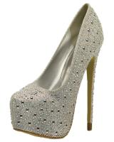 Lasonia M4891.  Available in Black Glitter, Silver Glitter, White Glitter