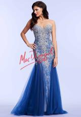 MacDuggal 81719M.  Available in Black/Nude, Hot Pink, Ivory, Midnight