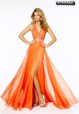 Mori Lee 97018.  Available in Aqua, Blush, Mango