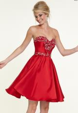 Mori Lee Sticks & Stones 9317.  Available in Red, White