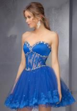 Mori Lee Sticks & Stones 9272.  Available in Royal, Scarlet