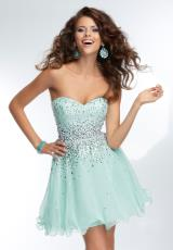 Mori Lee Sticks & Stones 9252.  Available in Bright Coral, Mint, Pretty in Pink