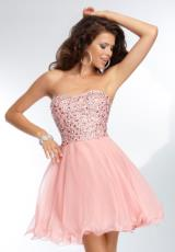 Mori Lee Sticks & Stones 9255.  Available in Ballet Slippers, Banana Split, Mint