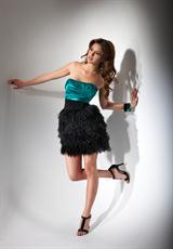 Flirt PF5016.  Available in Mediterranean Teal/Black