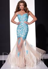 Panoply 14689.  Available in Black/Nude, Coral/Nude, Turquoise/Nude