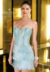 2014 Alyce Short Fitted Bodice Prom Dress 2214