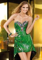 2013 Alyce Short Sequins Prom Dress 2217