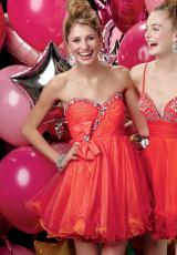 2013 Alyce Short Strapless Prom Dress 3521