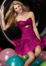 2014 Alyce Short Flirty Homecoming Dress 3525