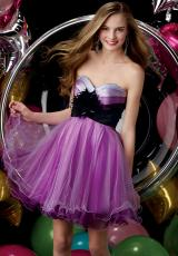 2013 Alyce Short Tulle Skirt Prom Dress 3528