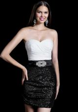 2014 Alyce Short Ruched Bodice Prom Dress 4278