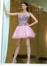 2014 Alyce Amazing Short Corset Prom Dress 4285