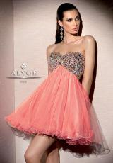 2014 Alyce Short A Line Prom Dress 4311