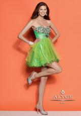 Alyce 4316.  Available in Hot Pink, Lime, Purple, Turquoise