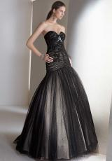 2013 Alyce Strapless Prom Dress 5474