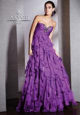2013 Alyce Long Empire Waist Prom Dress 5511
