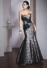 2013 Alyce Lace Silhouette Prom Dress 5526