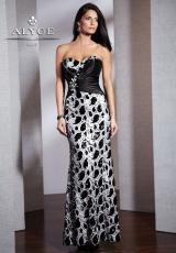 2013 Alyce Form Fitted Prom Dress 5527