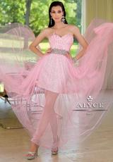 2014 Alyce Long Tulle Skirt Prom Dress 6000