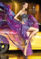 Alyce 6038.  Available in Fuchsia, Purple, Teal