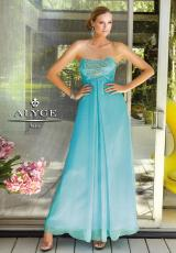 2013 Alyce Long Chiffon Prom Dress 6044