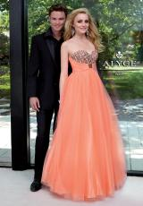 2013 Alyce Empire Waist Prom Dress 6045