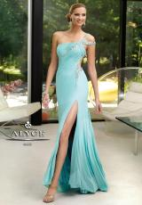 Alyce 6083.  Available in Aqua, Orchid, Sapphire