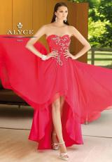 2014 Alyce Sweetheart Prom Dress 6088