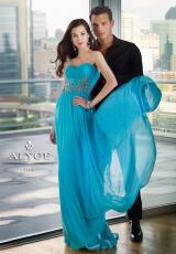 Alyce 6705.  Available in Azure Blue, Black, Bright Purple, Cerise, Cobalt, Coral, Light Turquoise, Lime, Mint, Orangeade, Pink, Red, Watermelon, White, Wisteria