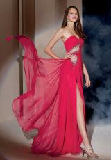 2013 Alyce Long Flowy Prom Dress 6950