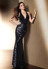 2013 Fitted Jersey Prom Gown by Alyce Style 2059