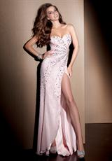 2013 Daring Side Slit Alyce Prom Dress 2069