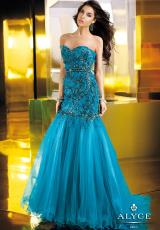 Alyce 2273.  Available in Dark Turquoise