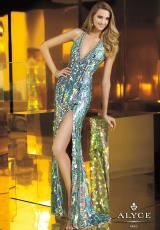 2014 Alyce Paris Sequin Prom Dress 2282
