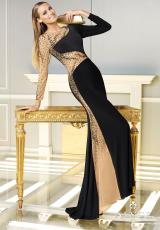 2014 Alyce Paris Jersey Prom Dress 2301