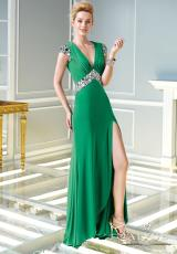 2014 Alyce Paris Jersey Long Prom Dress 2338