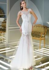 Alyce 2343.  Available in Diamond White