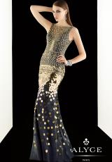 Claudine for Alyce 2014 Homecoming Collection Long Dress 2392